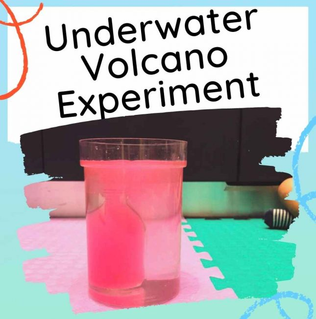 Underwater Volcano Experiment For Kids Feature Image